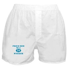 Proud Mom 26 Weeker Boxer Shorts