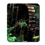 Old Water Wheel Mousepad