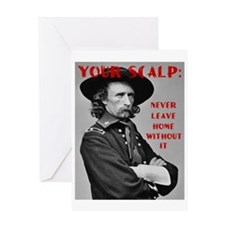 Your Scalp Greeting Card