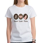 Peace Love Viola Women's T-Shirt