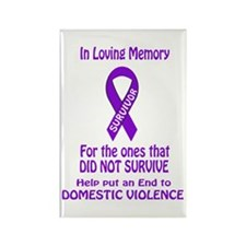 In Loving memory Rectangle Magnet