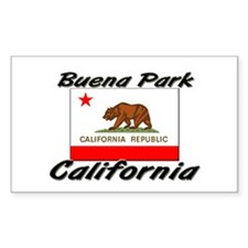 Buena Park California Rectangle Decal