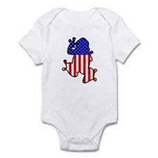 American Frog Infant Bodysuit