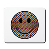 Autism Smiley Mousepad