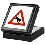 Caution Elks, Norway Keepsake Box