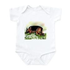 German Shepherd Tracking Infant Bodysuit