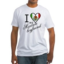 I Love Heart my Mexican Boyfr Shirt