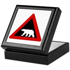 Beware of Polar Bears, Norway Keepsake Box