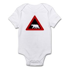 Beware of Polar Bears, Norway Infant Bodysuit