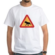 Caution Elks, Sweden Shirt