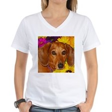 Doxie Flower Shirt