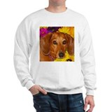 Doxie Flower Sweater