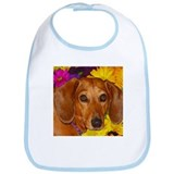 Doxie Flower Bib