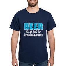 Beer Breakfast Navy T-Shirt