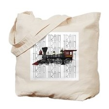 Train Lover Tote Bag