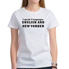 New York Language Tee