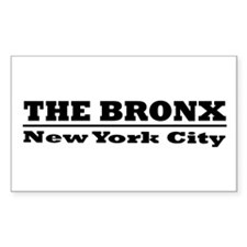 The Bronx Rectangle Decal