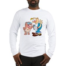 Half-naked George and Jimmy; Long Sleeve T-Shirt