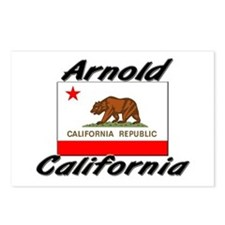 Arnold California Postcards (Package of 8)
