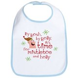 Holly Elf Bib
