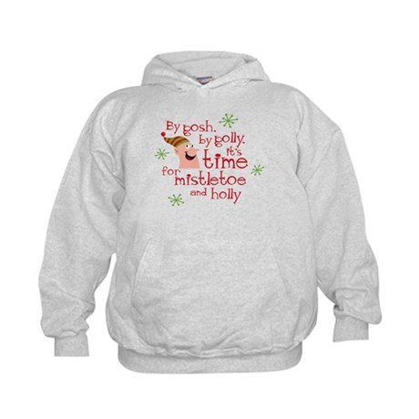 Holly Elf Kids Hoodie