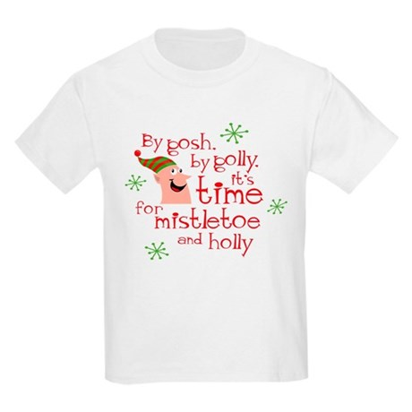 Holly Elf Kids Light T-Shirt
