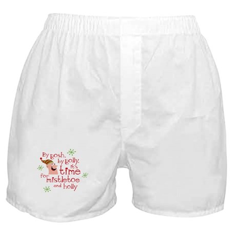 Holly Elf Boxer Shorts