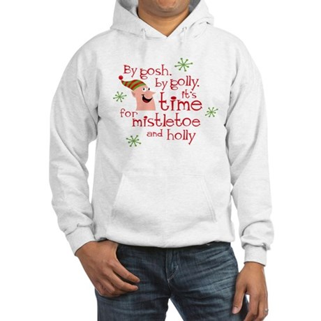 Holly Elf Hooded Sweatshirt
