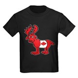 Adorable Canadian Moose T