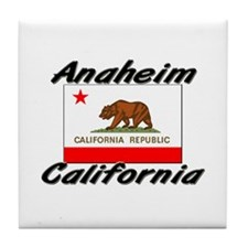 Anaheim California Tile Coaster