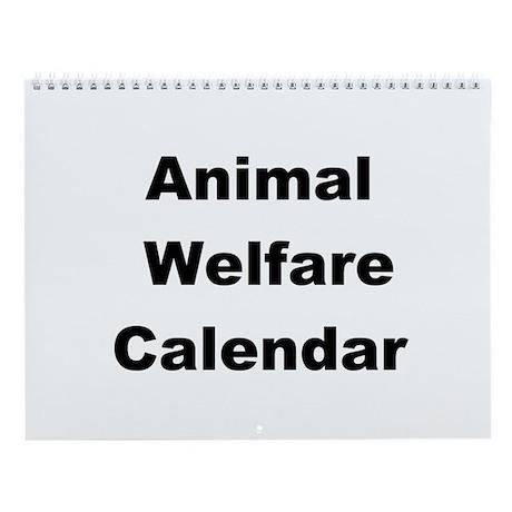 Animal Voice Wall Calendar