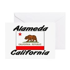 Alameda California Greeting Cards (Pk of 10)
