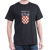 Croatia Arms with Name T-Shirt