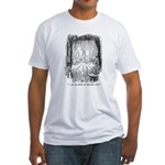 Christmas Past Fitted T-Shirt