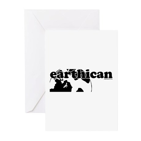 Earthican Greeting Cards (Pk of 10)