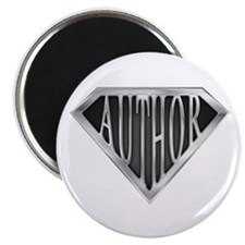 "SuperAuthor(metal) 2.25"" Magnet (10 pack)"
