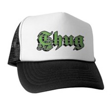 Unique Thug Trucker Hat