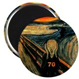 Scream 70th 2.25&quot; Magnet (10 pack)