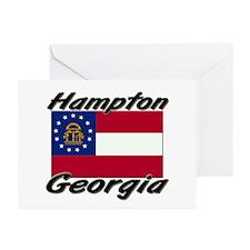 Hampton Georgia Greeting Cards (Pk of 10)
