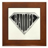 SuperBailiff(metal) Framed Tile