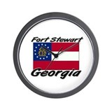 Fort Stewart Georgia Wall Clock