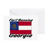 Fort Benning Georgia Greeting Cards (Pk of 10)