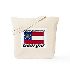 Fort Benning Georgia Tote Bag