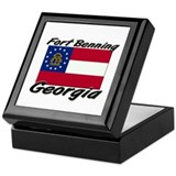 Fort Benning Georgia Keepsake Box