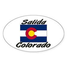 Salida Colorado Oval Decal