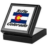 Rifle Colorado Keepsake Box