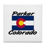 Parker Colorado Tile Coaster