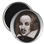 "Subliminal Bard's 2.25"" Magnet (10 pack)"