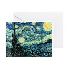 Van Gogh Starry Night Greeting Cards (Pk of 20)