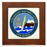 USS Mount Whitney (LCC 20) Framed Tile